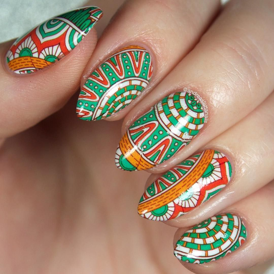 Here Comes The Water Decal Nail Art By Andreaslettanails With Our