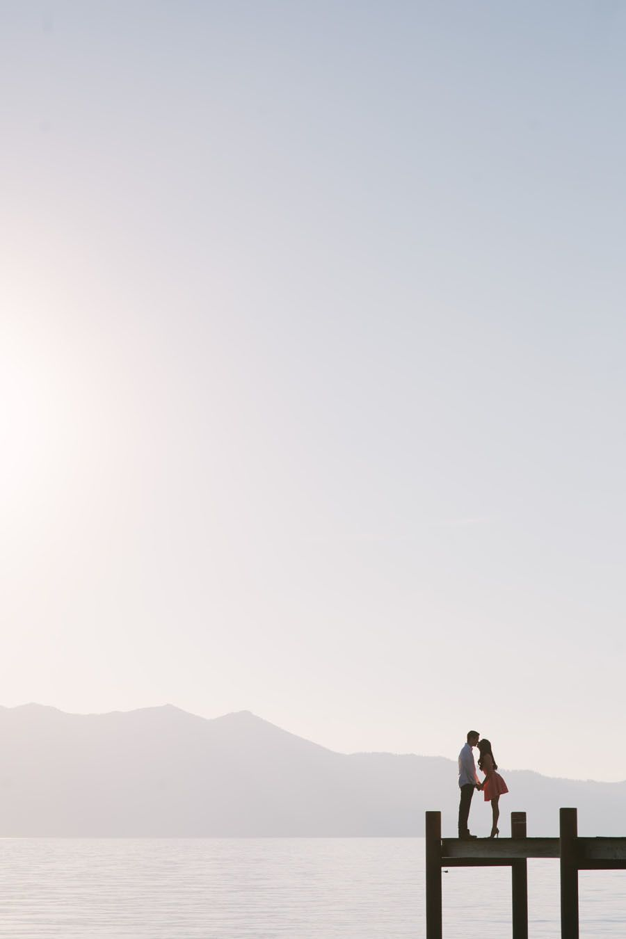 Dreamy Lake Tahoe Engagement Session   Photography