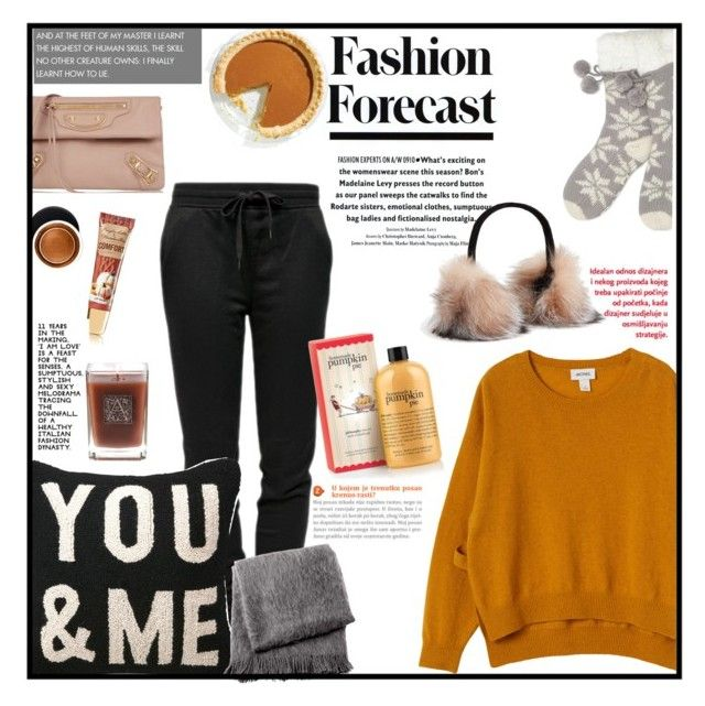 """""""Netflix Binge"""" by citresque ❤ liked on Polyvore featuring T By Alexander Wang, Lipsy, Monki, Balenciaga, From the Road, Surell, Aromatique, Estée Lauder, WhatToWear and netflix"""