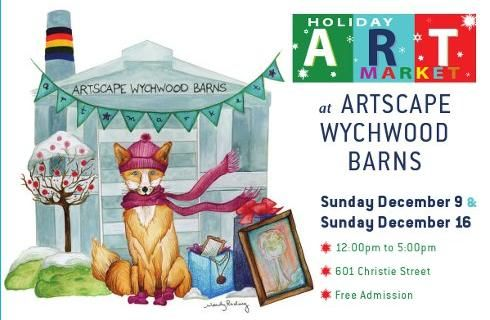 Holiday Art Market at the Artscape Wychwood Barns is both ...