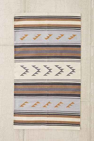 For Dining room -- Assembly Home Maude Triangle Woven Rug - Urban Outfitters | 5x7, $240