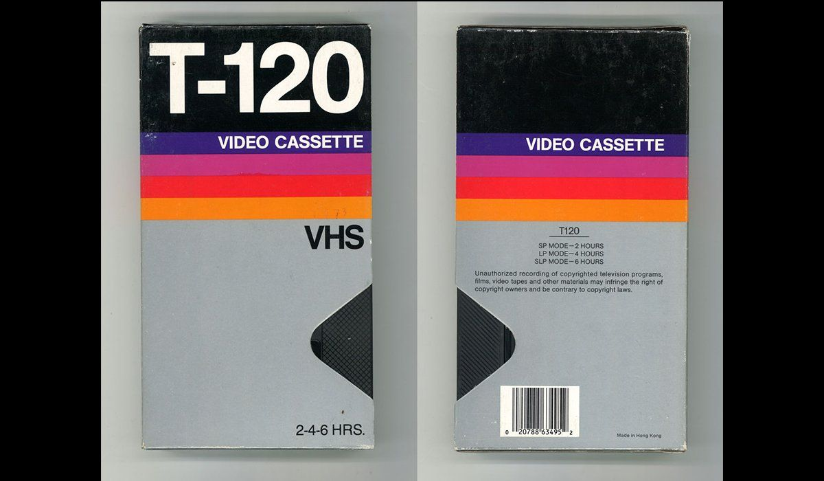 From Ignored Ubiquity To Design Classic The Art Of The Blank Vhs Tape Design Packaging Design Trends Vintage Graphic Design Vhs Cassette