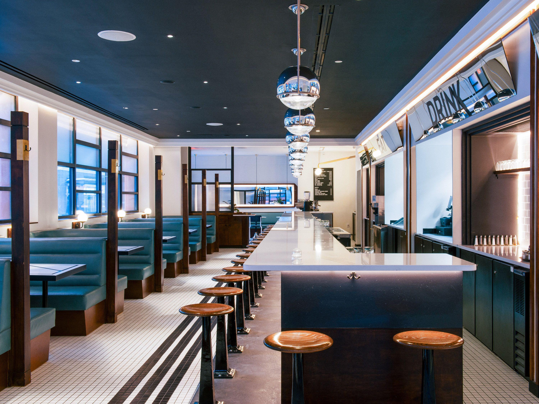 Nickel Diner Nyc Meltingbutter Com Restaurant Find Diner Decor Restaurant Interior Restaurant Design