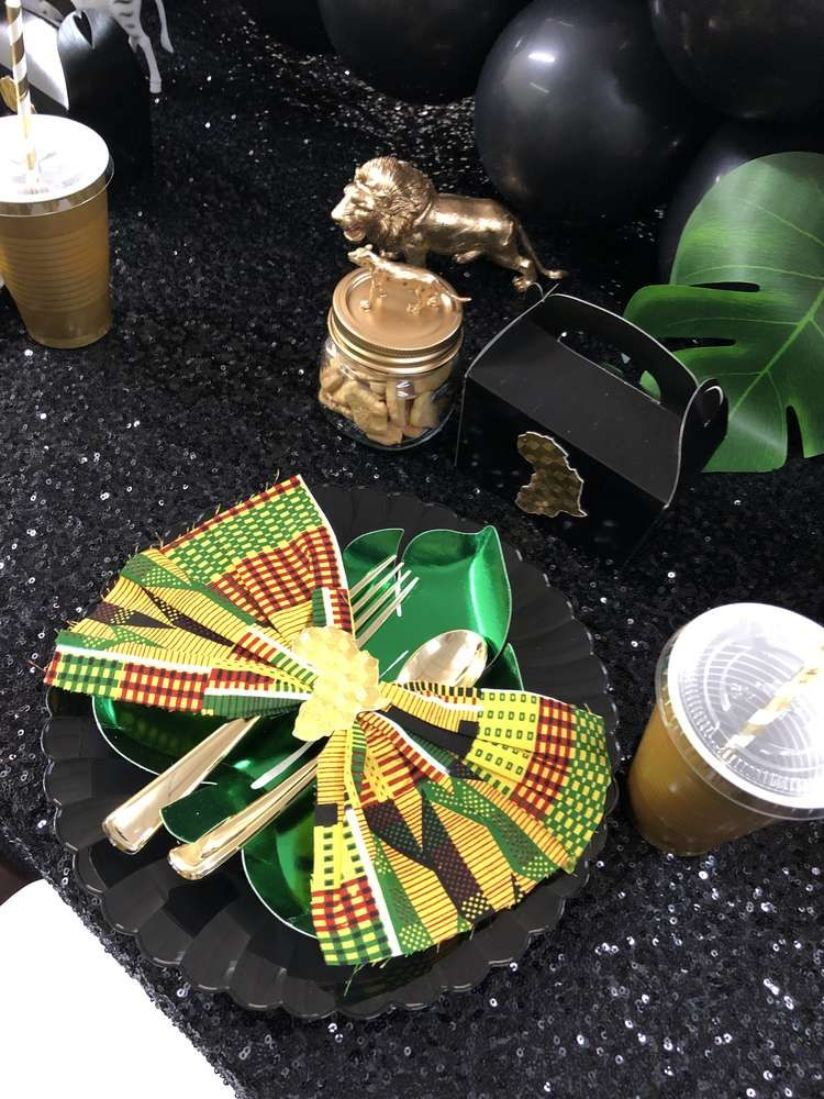 African Princess Birthday Party Ideas Africa theme party