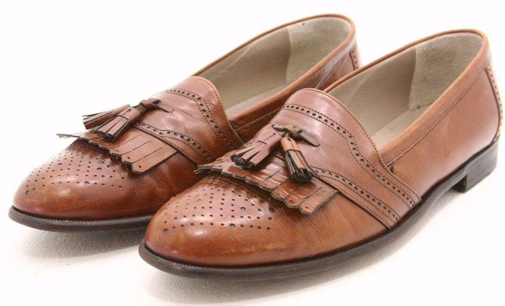 Brogue Shoes On Sale, Coffee, Leather, 2017, 8 Bally