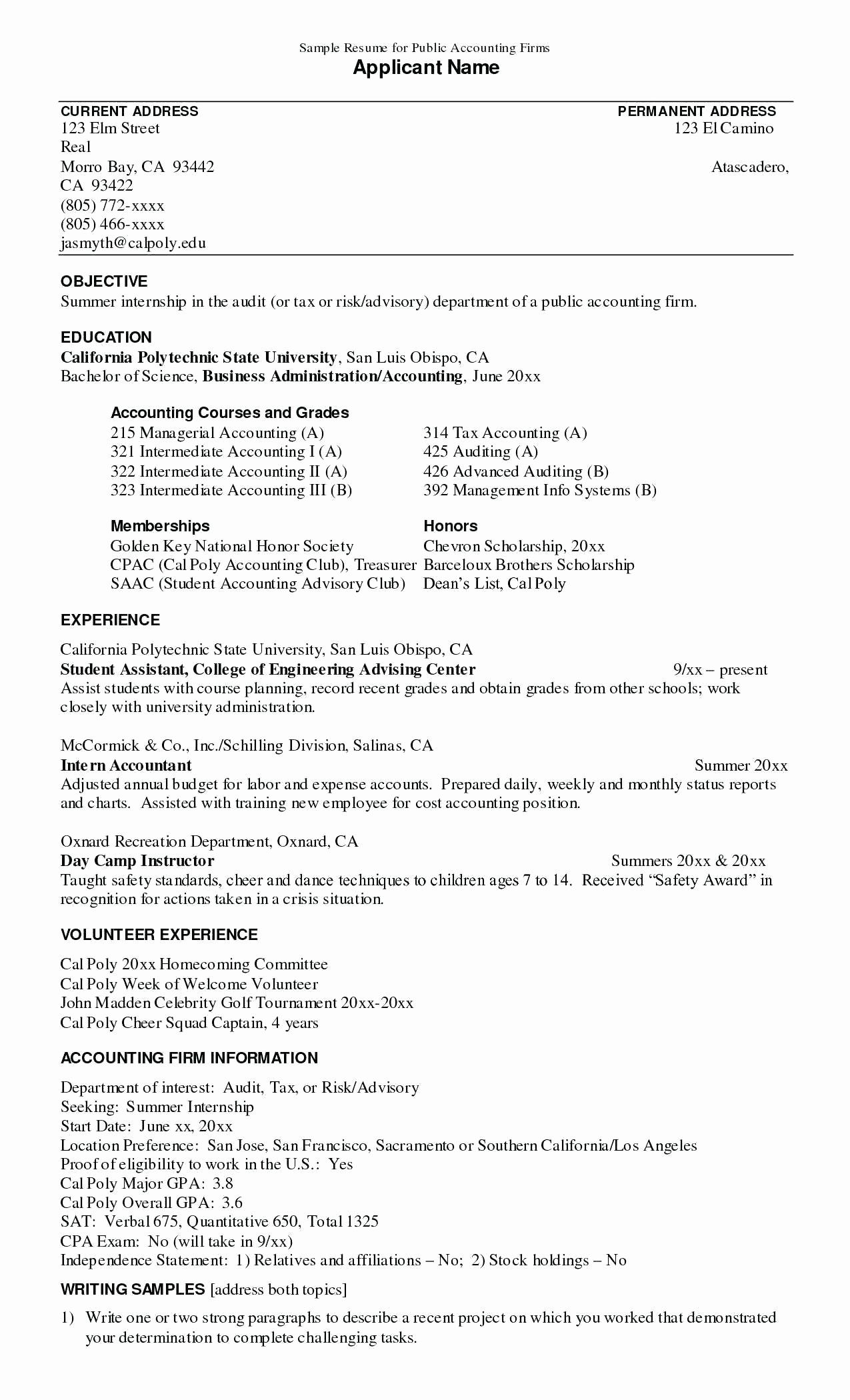 Resume Power Statement Best Of Examples Achievements For Resume Achievement In Internship Resume Sample Resume Resume Objective