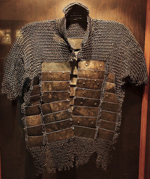 Russian mail and plate armor, Hermanni linn museum, Narva, Estonia.