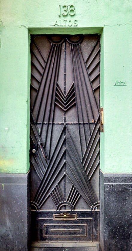 Art Deco Door, Art Deco Architecture, Art Deco