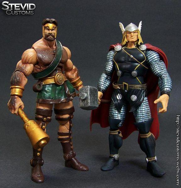 Hercules (Marvel Legends) Custom Action Figure | Custom