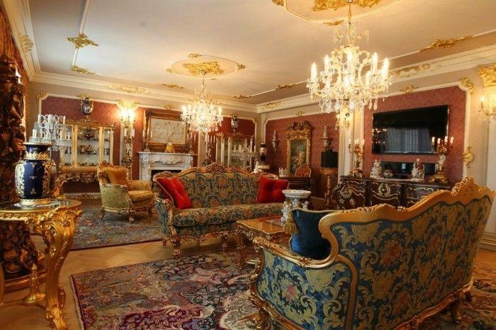 Captivating Awesome Zimmer Einrichten Ideen Wohnideen Wohnzimmer Edle Einrichtung  Muster Rokoko