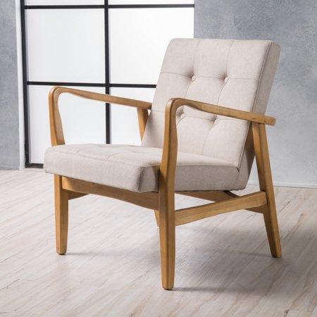 Marvelous Noble House Surrey Mid Century Modern Design Accent Chair Cjindustries Chair Design For Home Cjindustriesco