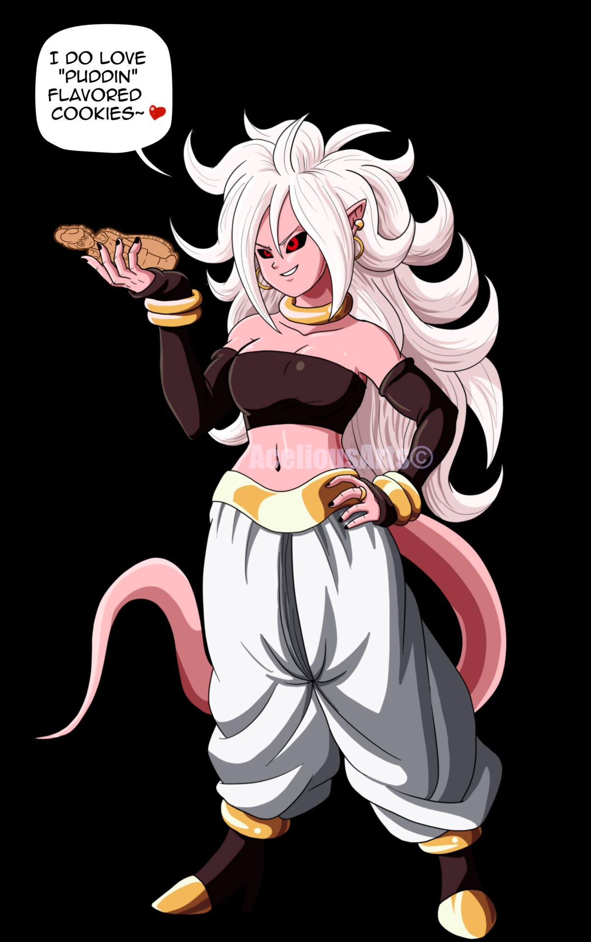 Majin Android 21 Androide Akira Personajes Femeninos