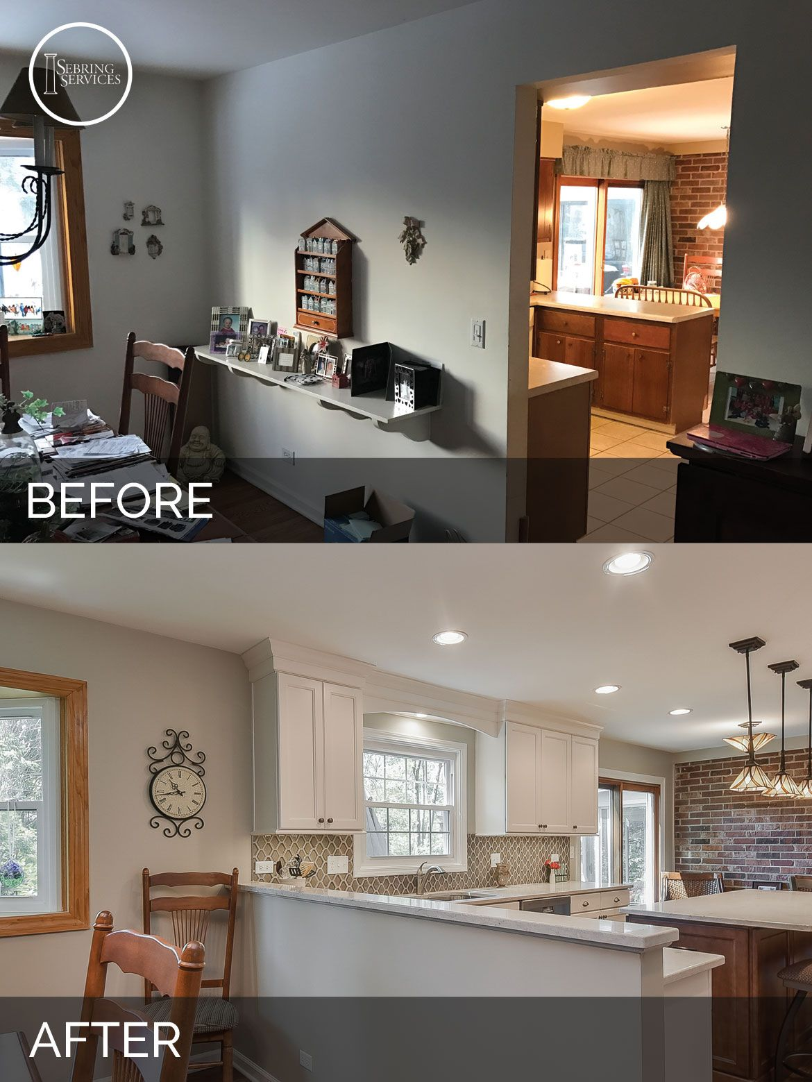 Scott & Ann's Kitchen Before & After Pictures  Kitchens Diy Mesmerizing Bathroom Remodeling Naperville Design Ideas