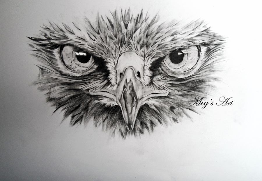 buzzard face drawing by stardust12345 tattoo ideas