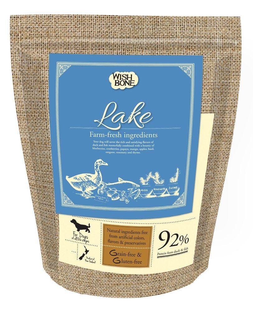 Wish Bone Lake Duck And Fish Dry Dog Food And Snacks 4lb Bag