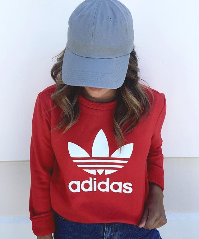 adidas trefoil crew neck sweatshirt follow me air max 90 and new babies. Black Bedroom Furniture Sets. Home Design Ideas