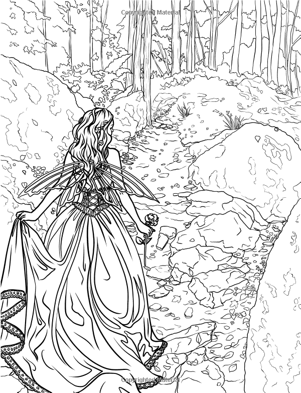 Enchanted Magical Forests Coloring