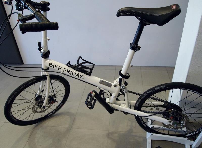 Madame Coolness A Bike Friday Silk Sepeda Inspirasi