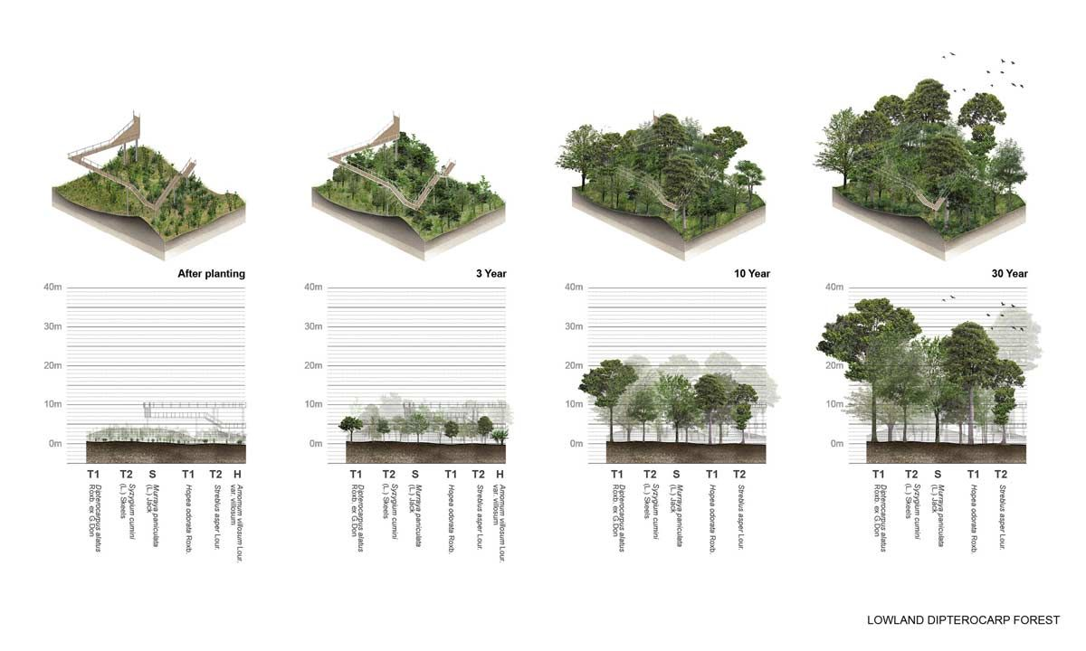 lab (2016) urban reforestation, metro forest bangkok (th), vialab (2016) urban reforestation, metro forest bangkok (th), via landezine com