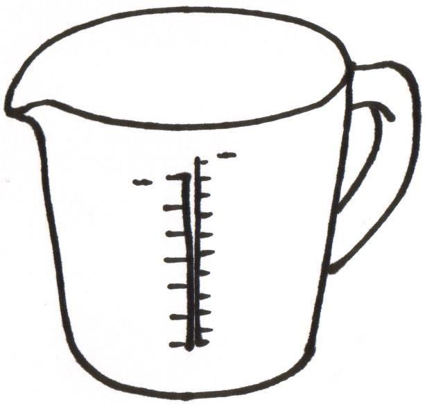 measuring cups 5 spoons 6 liquid ingredient clipart free clip rh pinterest com