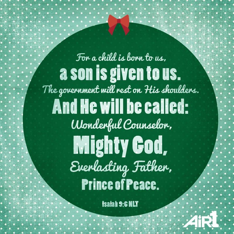 Bible Verse Of The Day  Http://www.air1.com/