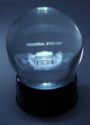 NCAA Clemson Tigers Stadium Logo Crystal Ball 4