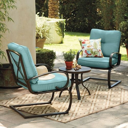 SONOMA outdoors 3 pc Belle HarborTable& Chair Set from Kohl s on Cata