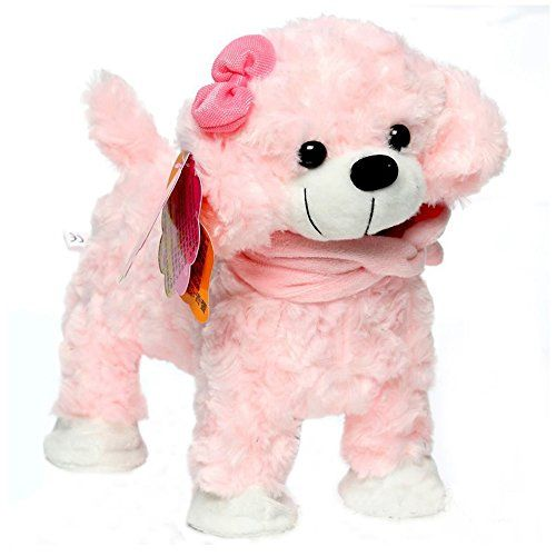 Toys Dogs Electric Pets Dog Robot Pets Walking Singing With