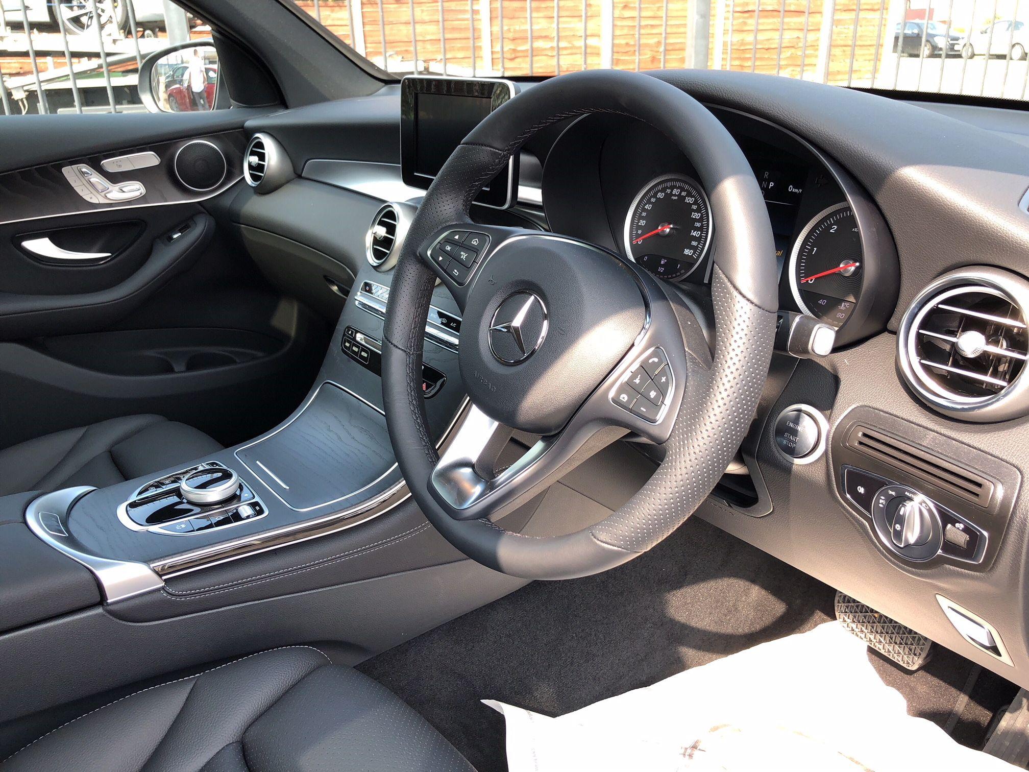 The Mercedes Benz Glc Diesel Coupe Glc 220d 4matic Sport Premium