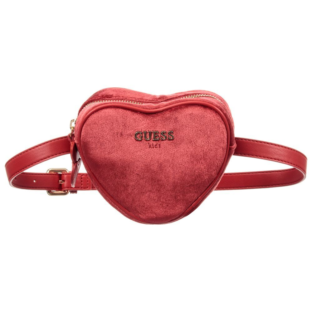 b0d7c79d0a Red Velvet Belt Bag (14cm) for Girl by Guess. Discover more beautiful  designer Bags for kids online
