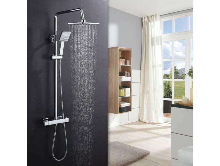 Duschsystem Mit Thermostat Regendusche Duschkopf Und Handbrause