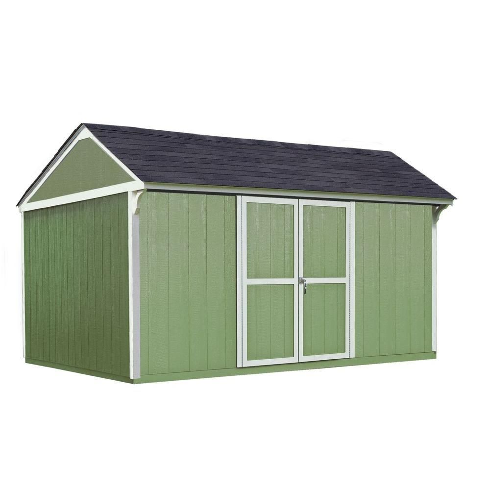 Tuff Shed Installed Tahoe Tall Ranch 10 ft  x 12 ft  x 8 ft