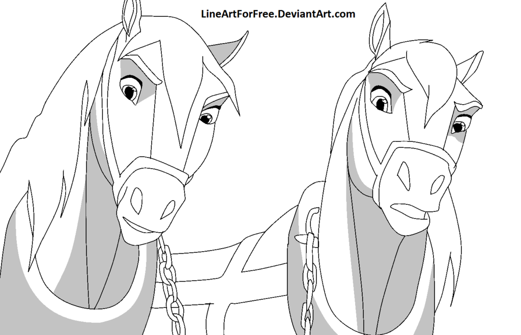 Spirit Horse Base 23 By Lineartforfree On Deviantart Spirit The Horse Spirit Drawing Horse Coloring Pages