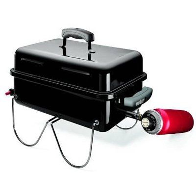 Weber Go Anywhere Lp Gas Grill Black 160 Sq In Model 1141001