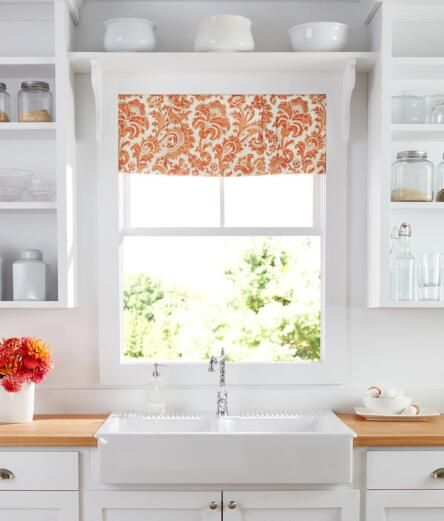 Natalie Lined Tailored Valance   Country Curtains®