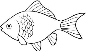 Image Result For Gambar Ikan Hitam Putih Sketsa Buku Mewarnai Izarnazar Gambar Gambar Hitam Image Mewarnai In 2020 Fish Clipart Fish Drawings Fish Outline