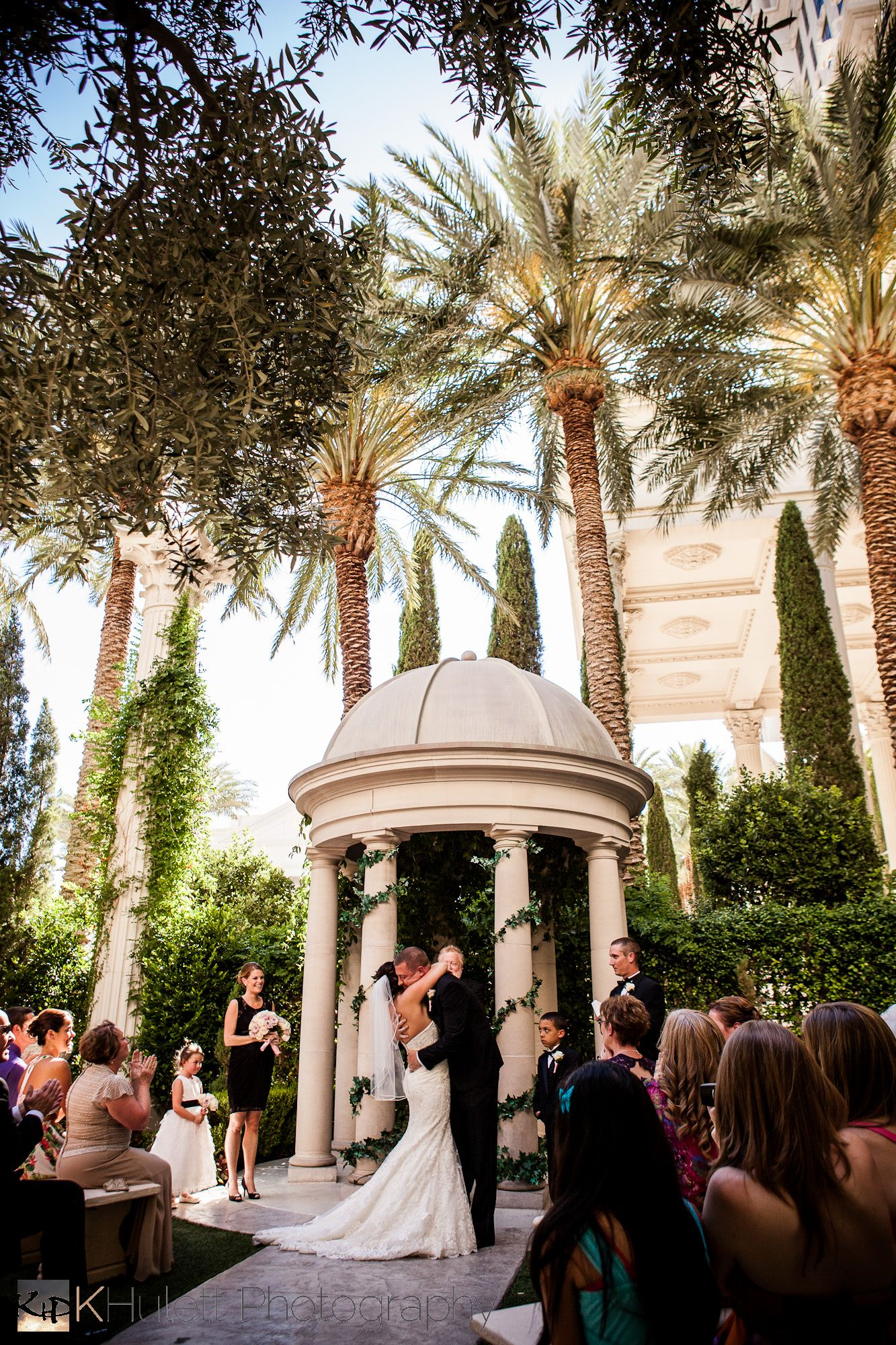 A Vegas Wedding at Caesar's Palace & The Palms with Sydney