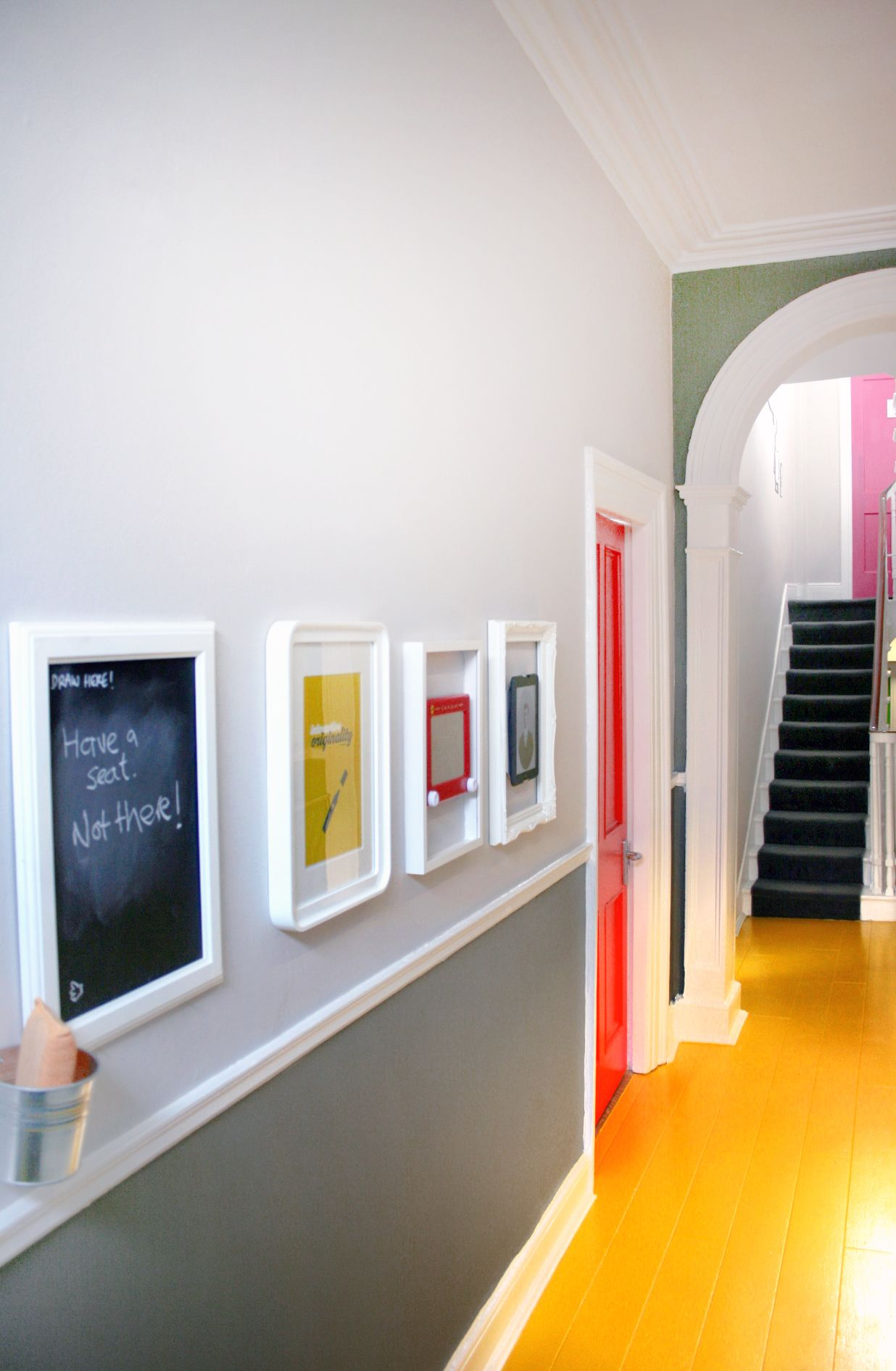 Office design colourful statement colour blocking for Office design yellow