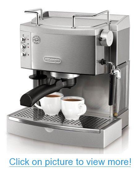 DeLonghi EC702 15-Bar-Pump Espresso Maker, Stainless #DeLonghi #EC702 #15_Bar_Pump #Espresso #Maker #Stainless