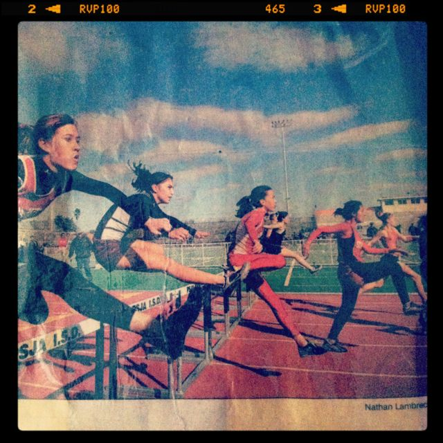 Winter Relays 2006 #track #hurdles
