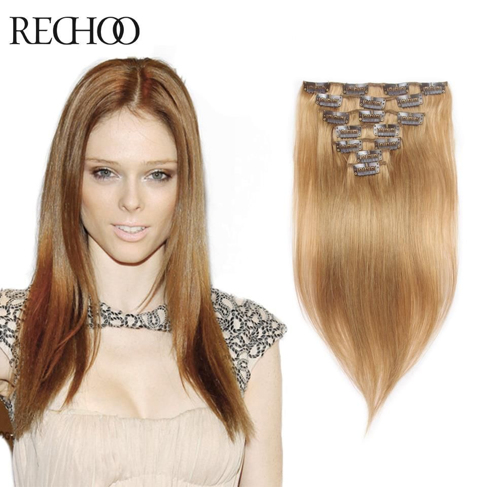 New Arrival Brazilian Hair Extensions Remy Clip In Human Hair