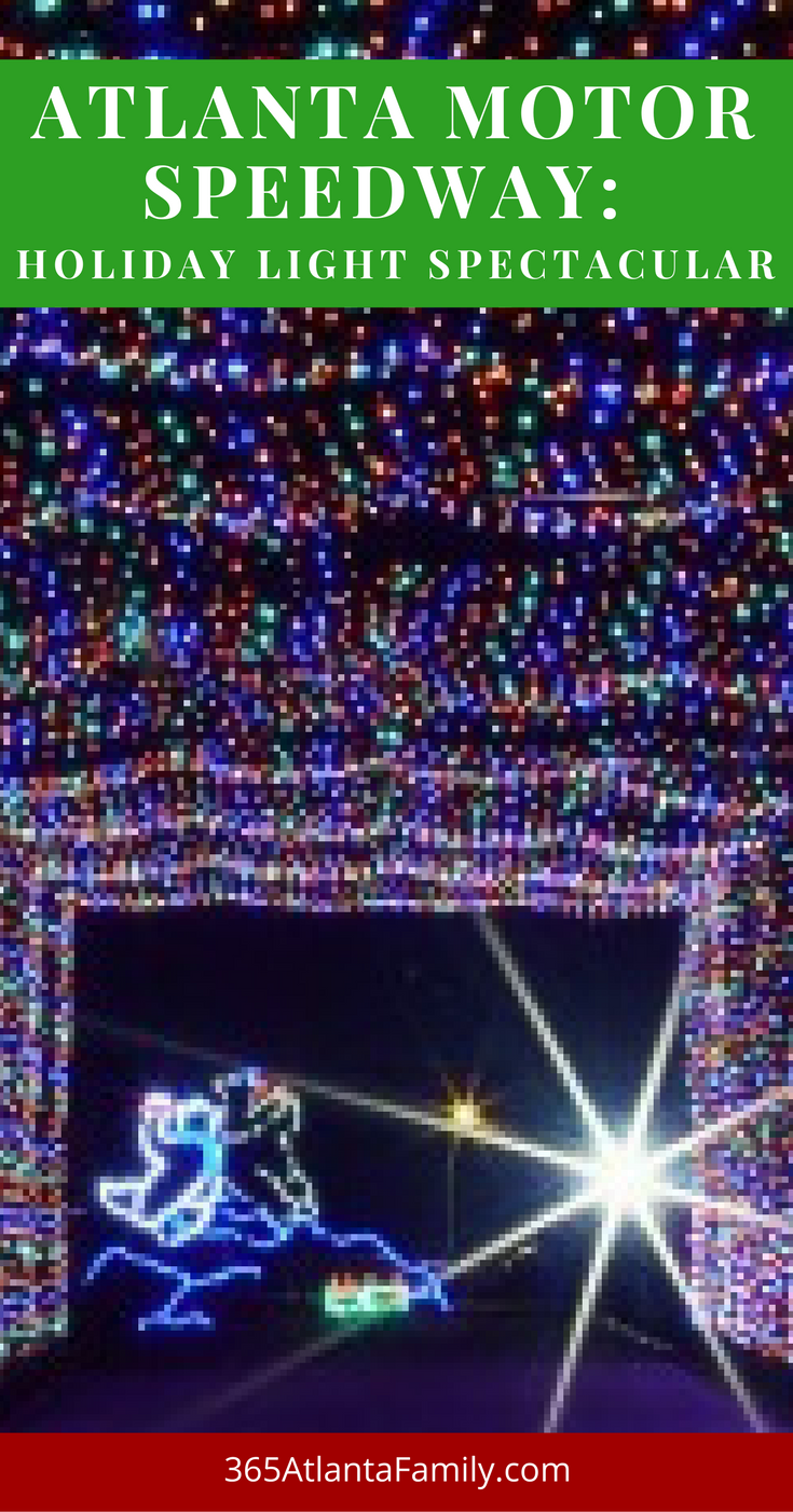Atlanta motor speedway christmas lights for Atlanta motor speedway light show