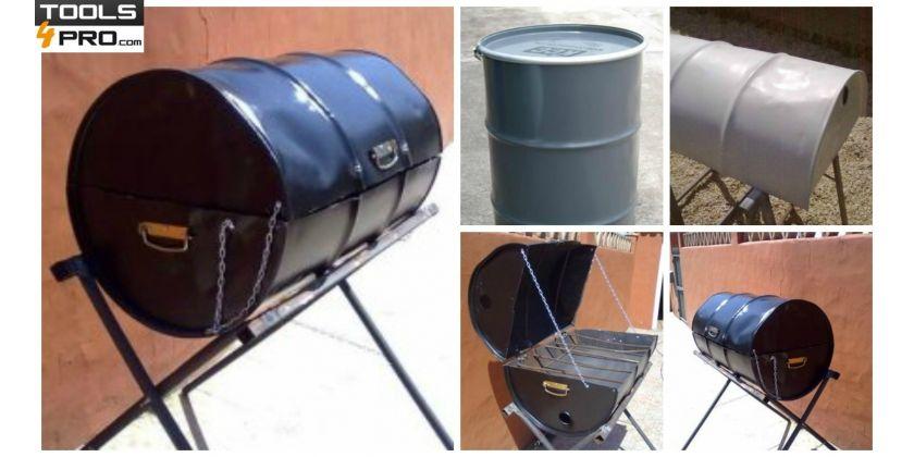 karcher comment faire un barbecue avec un baril en 5 tapes barbecue pinterest baril. Black Bedroom Furniture Sets. Home Design Ideas