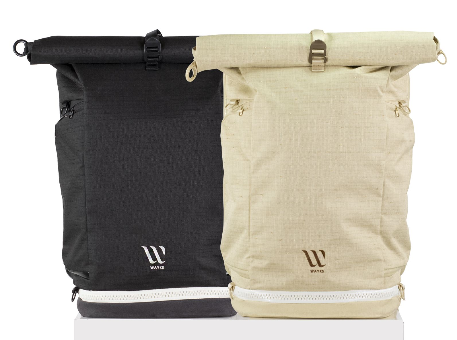 603935a1f93d WAYKS ONE is a modular travel backpack that can be converted into a smaller  day pack