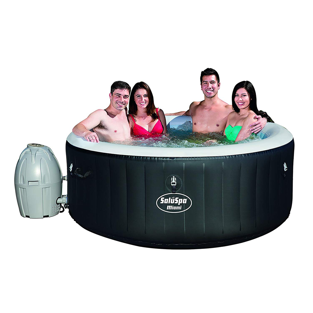 Best Inflatable Hot Tubs In 2021 Update List Inflatable Hot Tub Reviews Best Inflatable Hot Tub Hot Tub Reviews