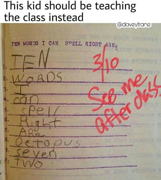 Best Funny School  Funny Test Answers 6