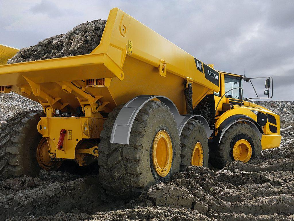 construction equipment | volvo construction equipment a40f