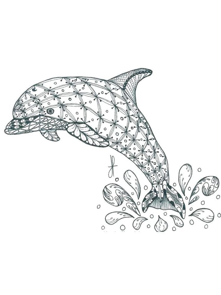 Mermaid Dolphin Coloring Pages Below Is A Collection Of Dolphin Coloring Page Which You Can Downlo Dolphin Coloring Pages Animal Coloring Pages Coloring Pages
