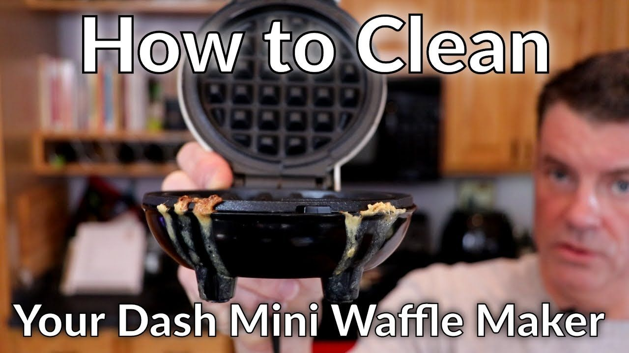 How To Clean Your Dash Mini Waffle Maker Corn Dog Maker Etc Youtube Waffles Waffles Maker Mini Waffle Recipe