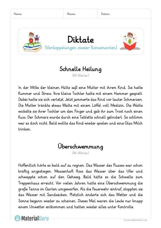 diktat verdopplung konsonanten 3 klasse gesamt deutsch unterricht schule und arbeitsbl tter. Black Bedroom Furniture Sets. Home Design Ideas